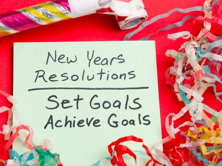 Resolutions vs goals: the important distinction between the two