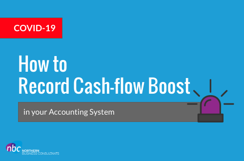 Recording the Cash Flow boost in Accounting Systems